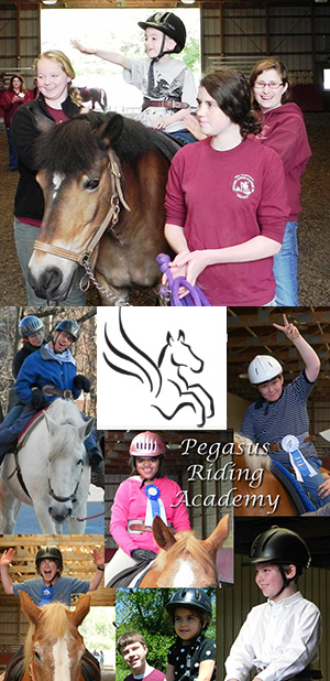 Fun at Pegasus Riding Academy