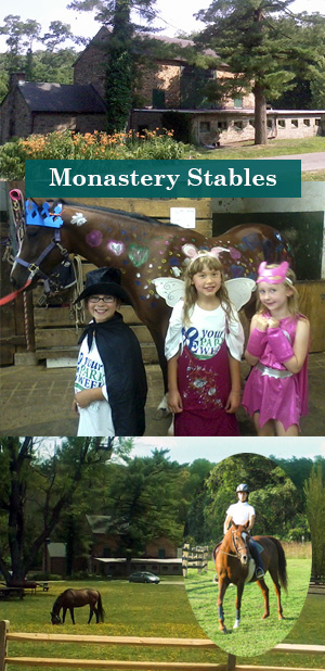 Fun at Monastery Stables